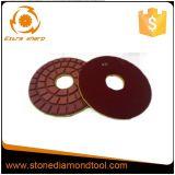 Resin Bonded Polish Floor Concrete Dry Diamond Pads