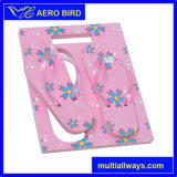Square Shape EVA Gift Flip Flop with Flower Print