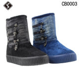 Warm Women and Men Cotton Snow Boots for Winter