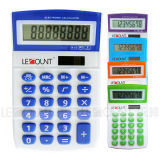 8 Digits Dual Power Mini Size Colorful Desktop Calculator (LC276)