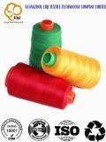 100% Polyester Spun Yarn Polyester Sewing Yarn in Good Quality