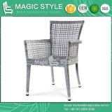 Wicker Chair Rattan Chair Armchair Dining Chair (MAGIC STYLE)