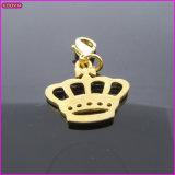 Gold Crown Mini Metal Charm (17204)