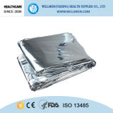 Disposable Thermal Emergency Blanket to Keep Warm