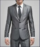 2button Sliver Grey Latest Design Mens′s Business Fashion Suits