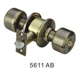 Classical Style Good Quality Cylindrical Knob Lock (5611 AB)