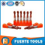 2 Flutes CNC Solid Carbide Lathe Cutting Tool