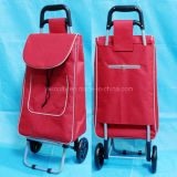 2 Wheels Store and Supermarket Shopping Cart with Iron Frame