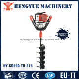 High Quality Petrol Single Operated Ground Drill with Practical Fuction
