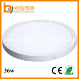 Ce/RoHS Home Lighting Indoor Panel Die-Casting Aluminum Round Surface Mount 36W Φ 500mm LED Ceiling Light