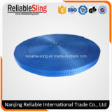 25mm Blue Polyester Webbing Belt for Tie Down Strap