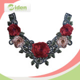 Bulk Multi Color Flower 3D Embroidery Neck Lace