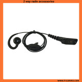 C Shape Ear Hook with in-Line Ptt Microphone for Xpr3600/6500/6550