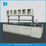 Steel Lab Furniture with Wall Mounted Cabinet