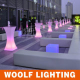 Modern LED Light up Tall Coffee Tables