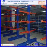 Warehouse Storage Single-Sided & Double-Sided Storage Cantilever Shelves