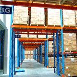 Blue Frame and Orange Beam Durable Industrial Steel Rack