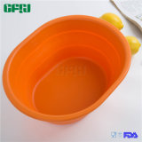 Outdoor Fishing Camping Foldable Silicone Bowl