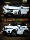 BMW White Color Remote Control Plastic Toy Electric Kids Car