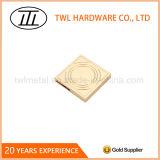 Square Carving Pattern Handbags Decoration Hardware