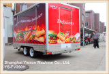 Ys-Fv390h High Quality Food Vans for Sale Catering Trailers for Sale