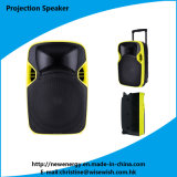 New Arrival 12 Inch Multi-Function Battery LED Projection Speaker