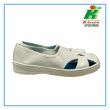 ESD 4-Hole Shoes, Antistatic Work Shoe, Cleanroom PVC Shoes