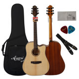 Factory Wholesale Acoustic Guitar with Best Quality and Low Price