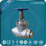 API Standard Flanged/Welded Ends Jacketed Gate Valve