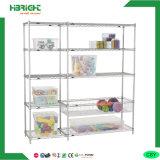 Household Chrome Plated Storage Wire Shelf