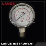 009 100mm W Type Ss Pressure Gauge