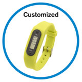 Silicone Step Counter Watches