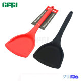 Kitchenware Manufacturer Solid Silicone Turner Spatula for Nonstick Pan
