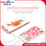 12000 mAh Li-Polymer Battery Back Clip Case Power Bank for iPhone 6 Plus