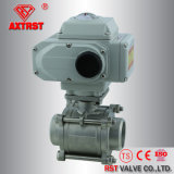 Electric Actuated Bw Floating 3PC Ball Valve (Q61F)