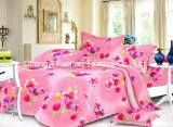 Printed Microfiber/Polyester Quilt Cover Faric for Bedding Set