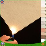 Home Textile Woven Polyester Waterproof Coating Fr Blackout Flocking Fabric for Window Curtain and Sofa