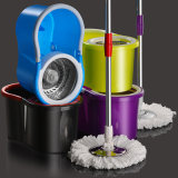 Easy Wring and Clean 360 Degree Spin Mop with Bucket