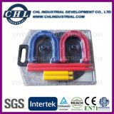 Customized Color Plastic Horseshoe Pair for Outdoor Toss Game