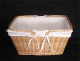 Wicker Basket for Shopping