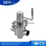 Stainless Steel Food Grade Manual Flow Control Divert Valve