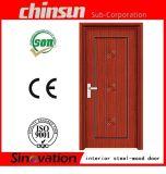 Cold-Rolled Steel Sheet Interior Steel-Wood Door with Low Price