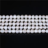 "B Grade 8mm 9mm Frehswater Pearl Strand 16"" Long"