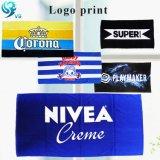 Promotional Item Cotton Velour Printed Logo Customized Towel