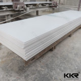 Corian White Solid Surface Artificial Stone for Kitchen Countertops