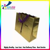 Luxury Design Golden Card Paper Handle Bag