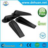 2017 New Custom Flexible Black Rubber Door Stopper