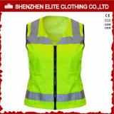 Professional Safety Uniforms Workwear Green Safety Vest Reflective (ELTHVVI-5)