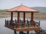 Wood Composite WPC Garden Decorative Pergola