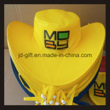 Full Color Printing Cowboy Foldable Hat